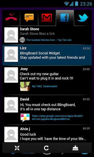 BlingBoard: Social Widget