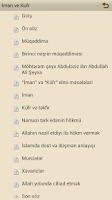 Screenshot of Iman ve Kufr