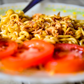 Mi Goreng Instan by Asridjaja Apolita - Food & Drink Plated Food ( goreng, fifastufoni-fotografi, instan, fsf, mi )