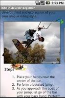 Screenshot of Kitesurf Instructor: Beginner