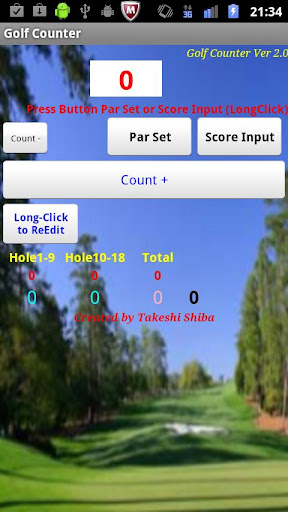 【免費工具App】Golf Counter-APP點子