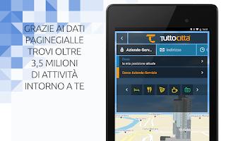 Screenshot of TuttoCittà NAV Italia Off-Line