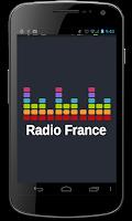 Screenshot of Radio France