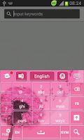 Screenshot of Pink Keypad for Galaxy S3 Mini
