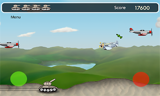 Airplane Tank Attack Game Free - screenshot