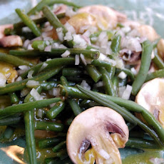 Green Bean and Mushroom Salad