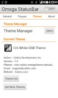 Screenshot of ICS White OSB Theme