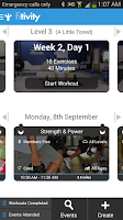 Screenshot of Ripped Body Exercise Workouts