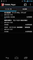 Screenshot of YOKMIL Player