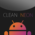GO SMS Clean Neon Theme icon