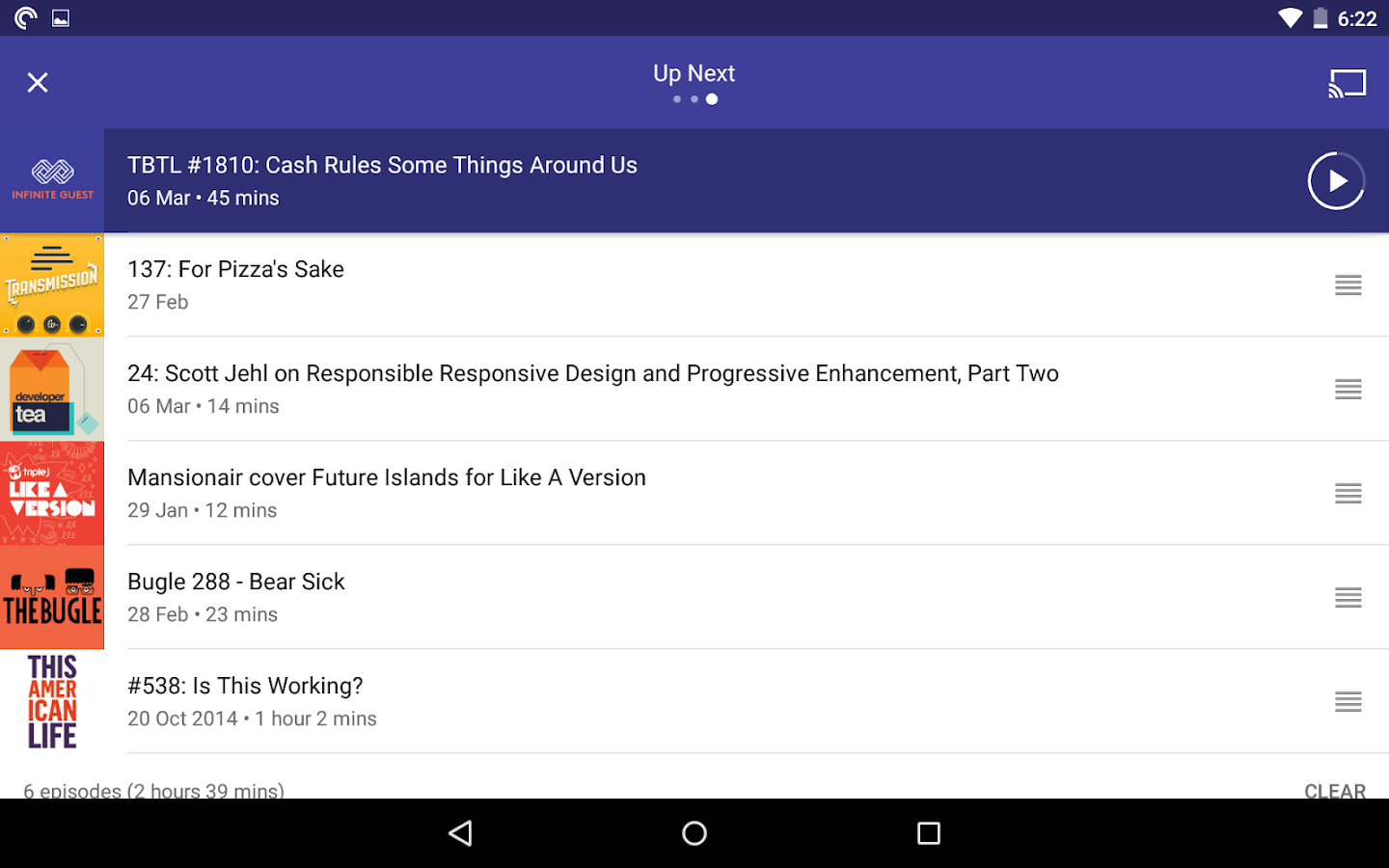 Pocket Casts Screenshot 18