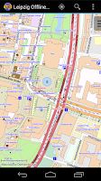 Screenshot of Leipzig Offline City Map