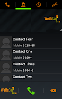 Screenshot of WeBeCall