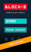 Screenshot of BLOCK x 3