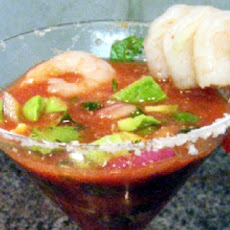 Shrimp and Avocado Cocktail