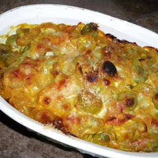 Curried Green Tomato Casserole