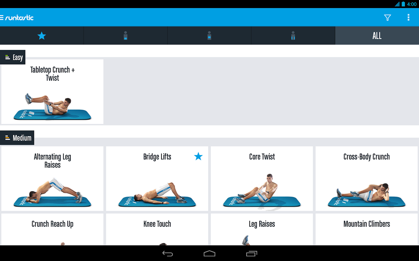 Runtastic Six Pack Ab Workout Screenshot 13