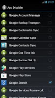 Screenshot of [Root] App Disabler