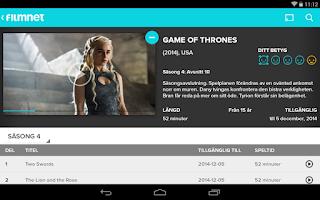 Screenshot of Filmnet