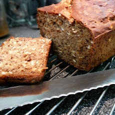 Low Fat Banana Oat Bread