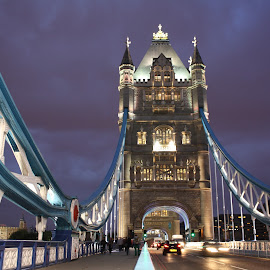 Tower Bridge by Benjamin Boynton - Buildings & Architecture Bridges & Suspended Structures