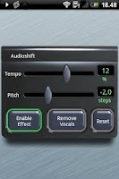 Screenshot of Audioshift Tempo+Pitch Free