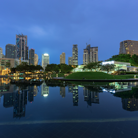 KLCC Lake by Kelvin Ng - City,  Street & Park  City Parks