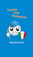 Screenshot of Gestore Asta Fantacalcio