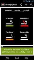 Screenshot of Kde se (ne)kouří