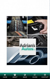 Adrians Autos Ltd - screenshot