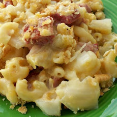 Macaroni and Corned Beef Casserole