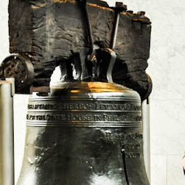Liberty Bell by Sally Shoemaker - Buildings & Architecture Statues & Monuments