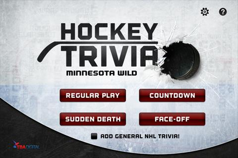Hockey Trivia-Wild