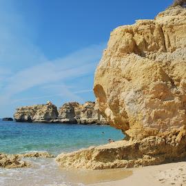 Beautiful beaches - Algarve, Portugal by Ritesh Srivastava - Landscapes Beaches ( algarve, sea, beach, portugal, landscape )