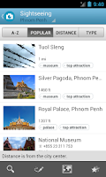 Screenshot of Cambodia Travel Guide