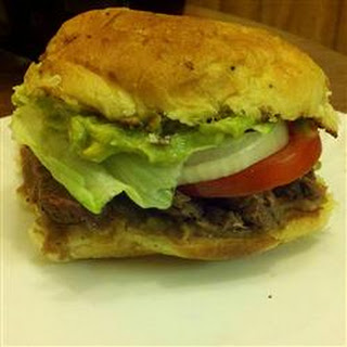 Mexican Steak Torta