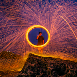 by Irwan Budiman - Abstract Light Painting