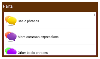 Screenshot of Learn German Conversation :EN