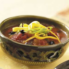 Spicy Three-Bean Chili Recipe