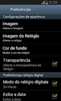 Screenshot of Flamengo Relógio Digital