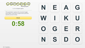 Screenshot of Letters multiplayer