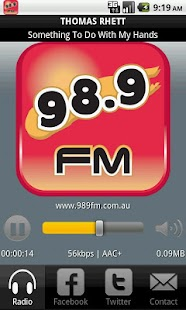 98.9fm For The Best Country - screenshot