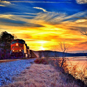 by Berry Fraley - Transportation Trains