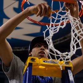 Winner by JonGunnar Gylfason - Sports & Fitness Basketball ( basketball, superdome, new orleans, ncaa, anthony davis, nola, kentucky )