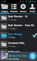 Screenshot of AALinQ Car Music Player