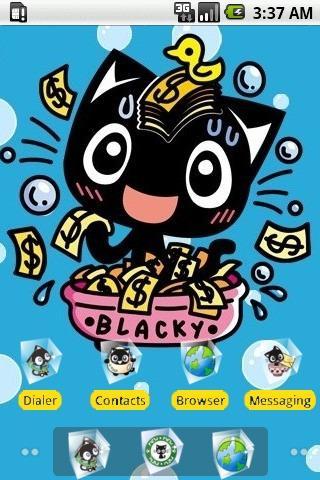 Blacky Money Bath[SQTheme] ADW