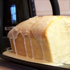 Glazed Almond Pound Cake