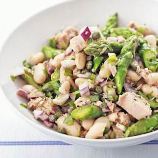 Tuna, Asparagus & White Bean Salad