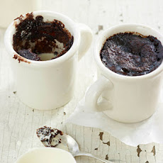 Chocolate Cupped Cakes with Coffee and Chicory