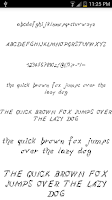 Screenshot of Fonts for FlipFont #15